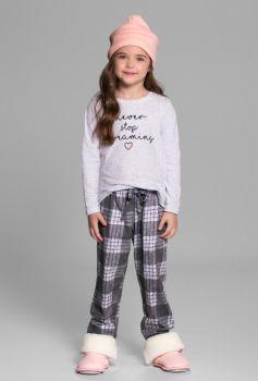 Pijama Manga Longa Xadrez