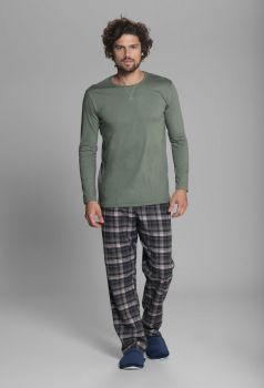 Pijama Masculino Manga Longa