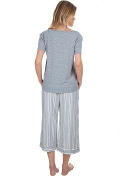 Pijama Pantacourt Listras