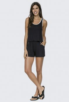 Short Doll Regata Preto