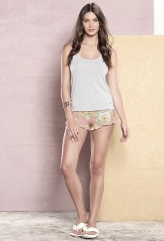 Short Doll Regata Rosas