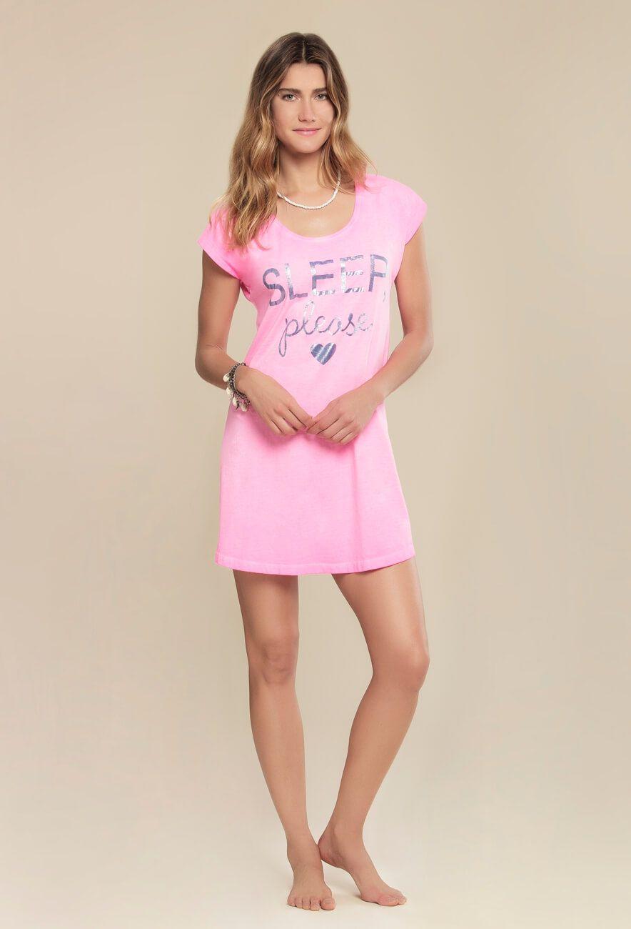 Camisola Manga Curta Pink