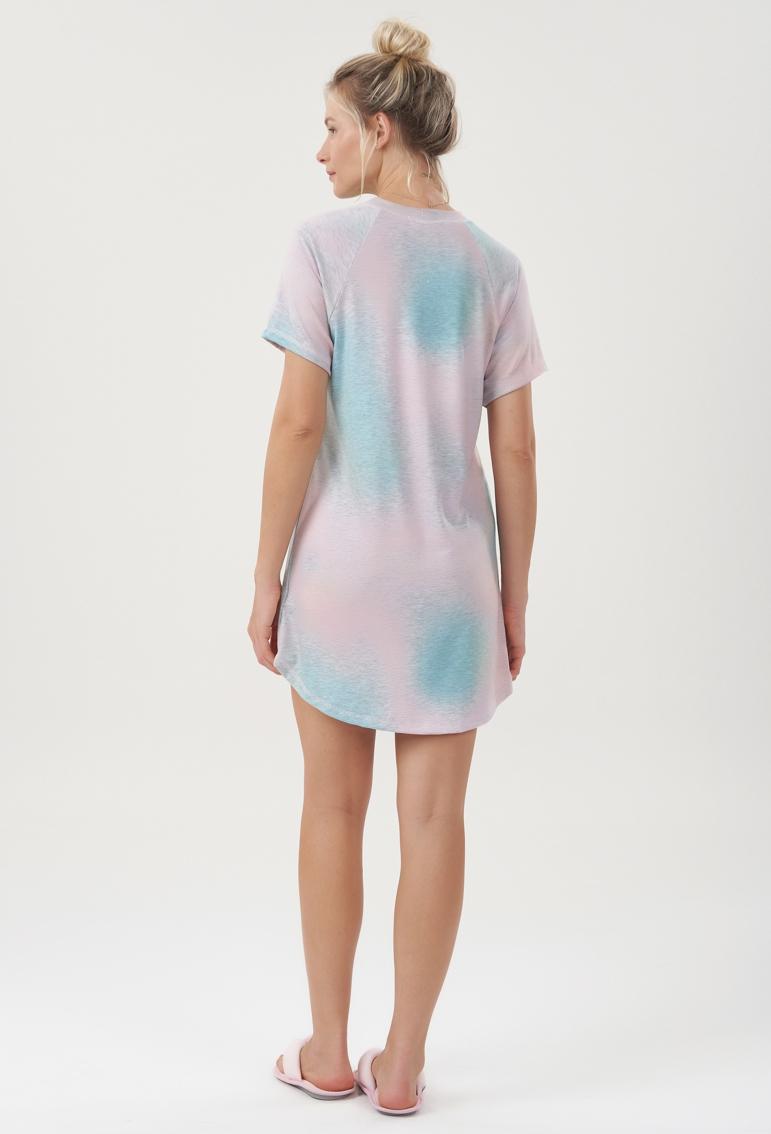 Camisola Manga Curta Tie Dye