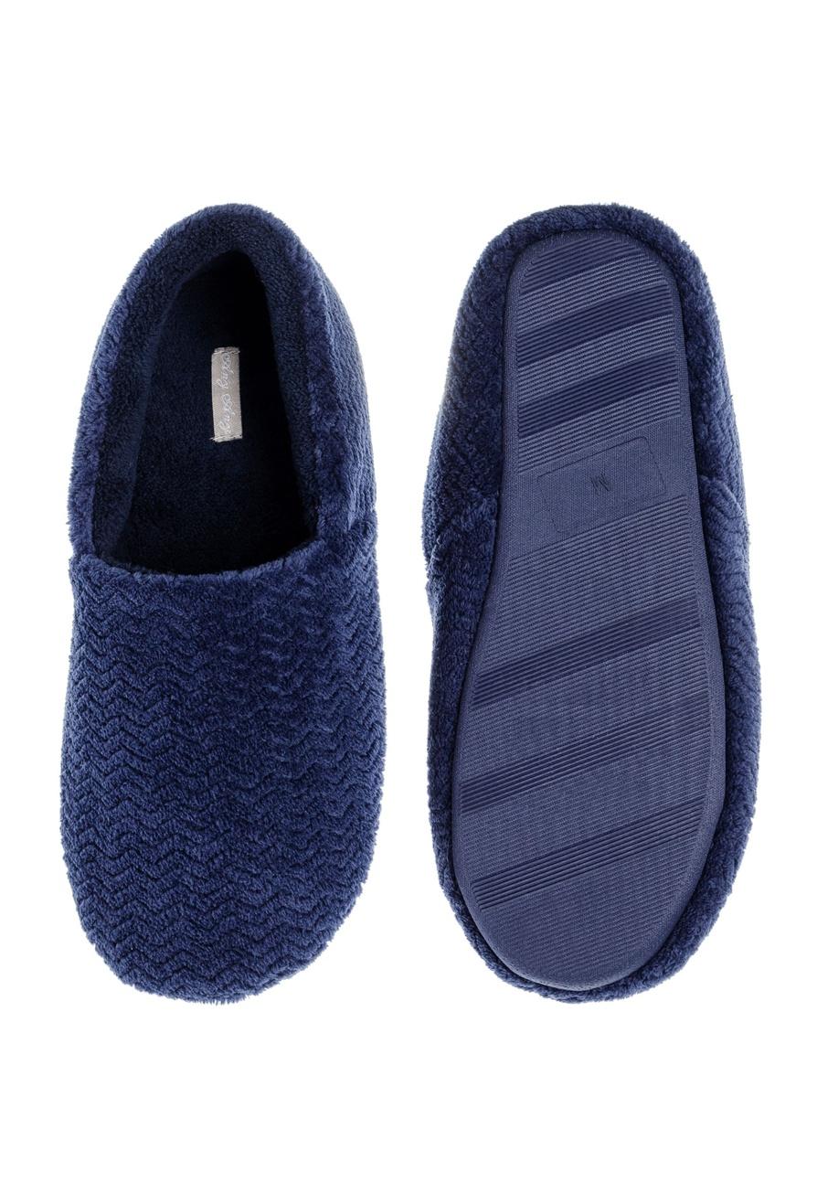 Pantufa Plush Blue Any Any