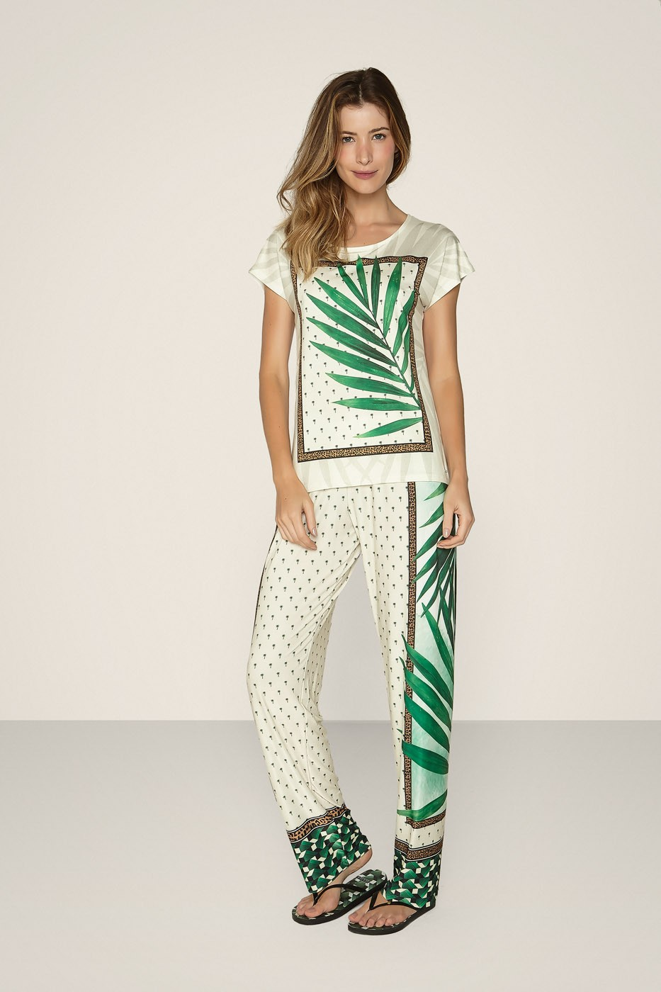 Pijama Especial Palms