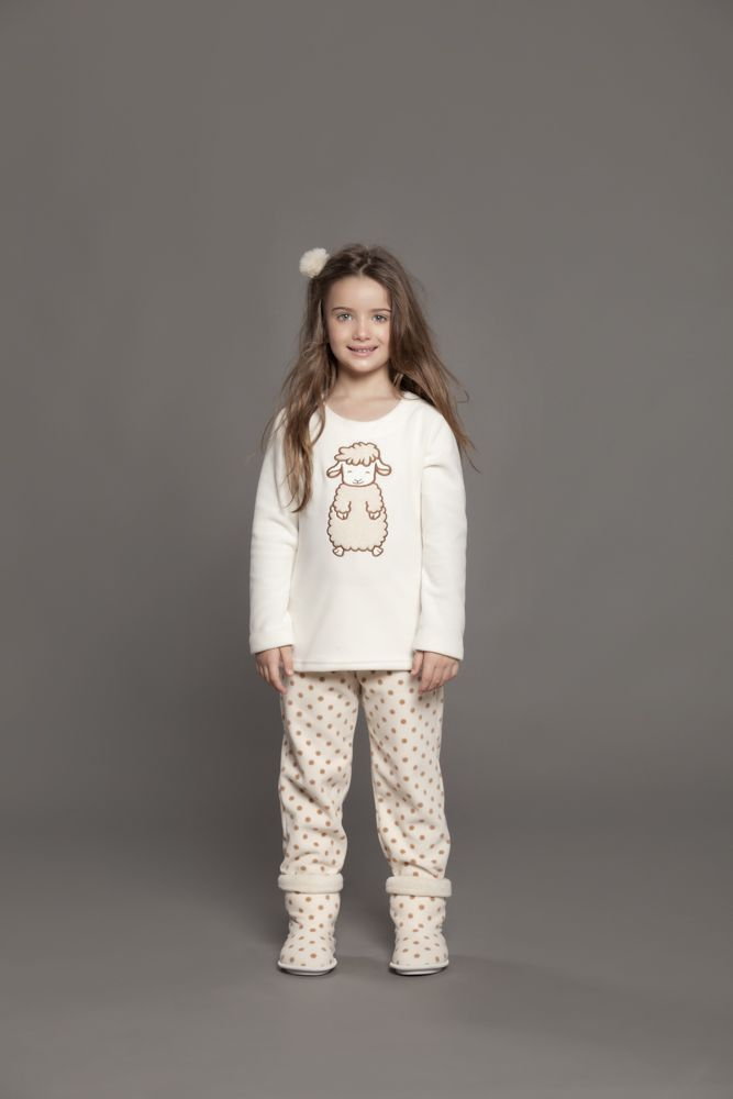 Pijama Infantil Microsoft Carneiro Poá