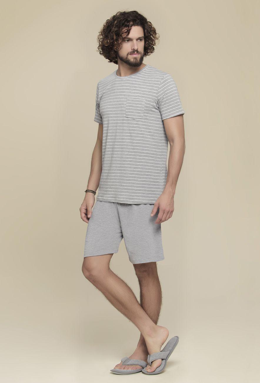Pijama Listras Masculino
