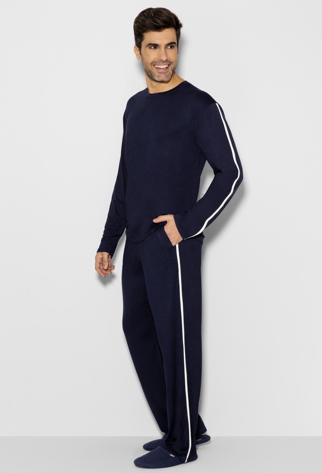 Pijama Longo Masculino Turingia Any Any