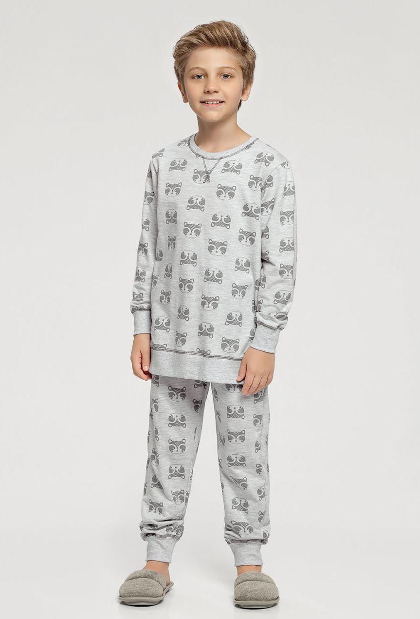 Pijama Manga Longa Infantil Moletinho