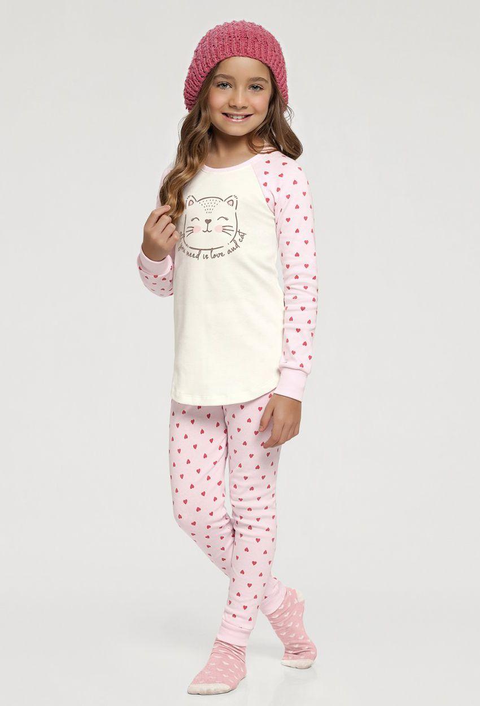 Pijama Manga Longa Legging Infantil