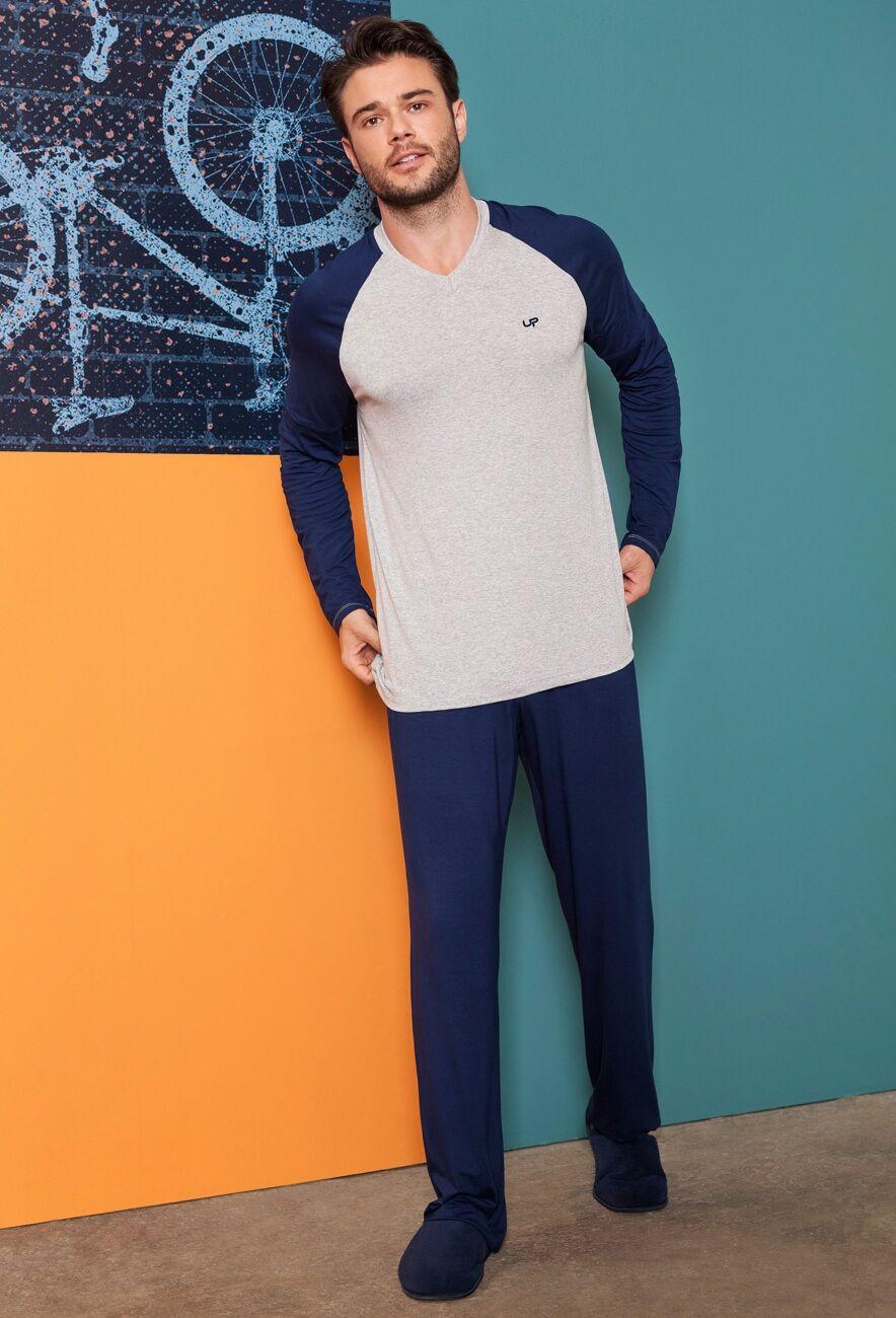 Pijama Masculino Longo Viscose