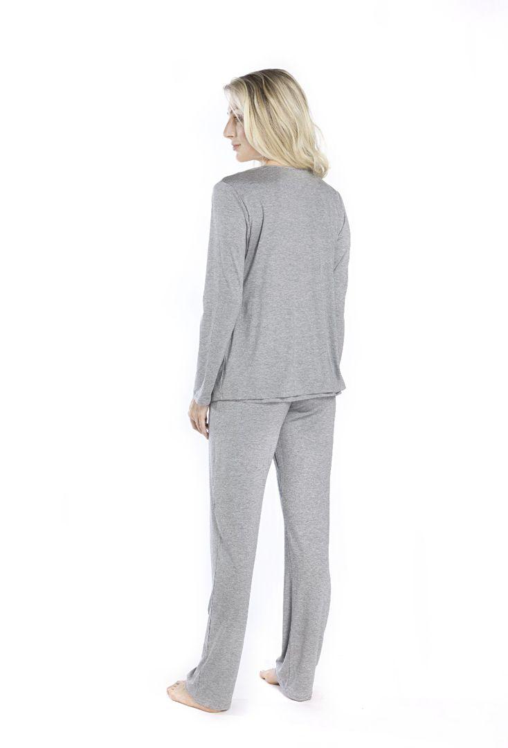 Pijama Maternidade 3 Peças