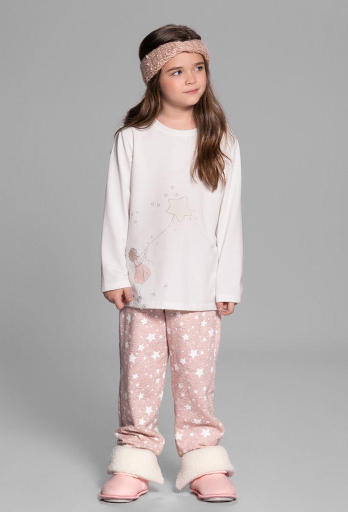 Pijama Moletinho Céu Estrelado