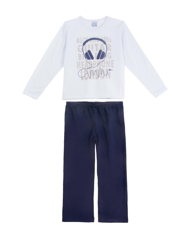Pijama Moletinho Infantil Menino