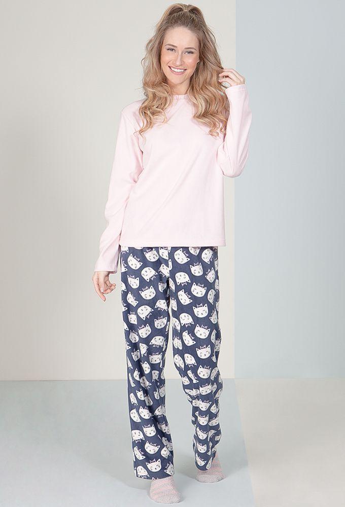 Pijama Soft Gatita