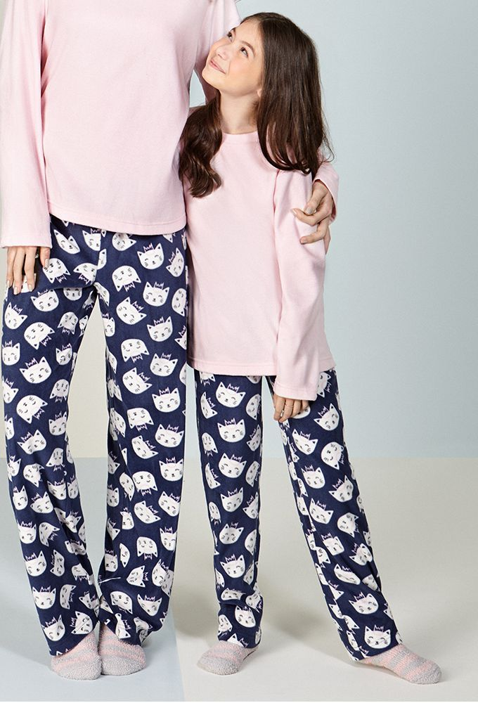 Pijama Soft Infantil Gatita
