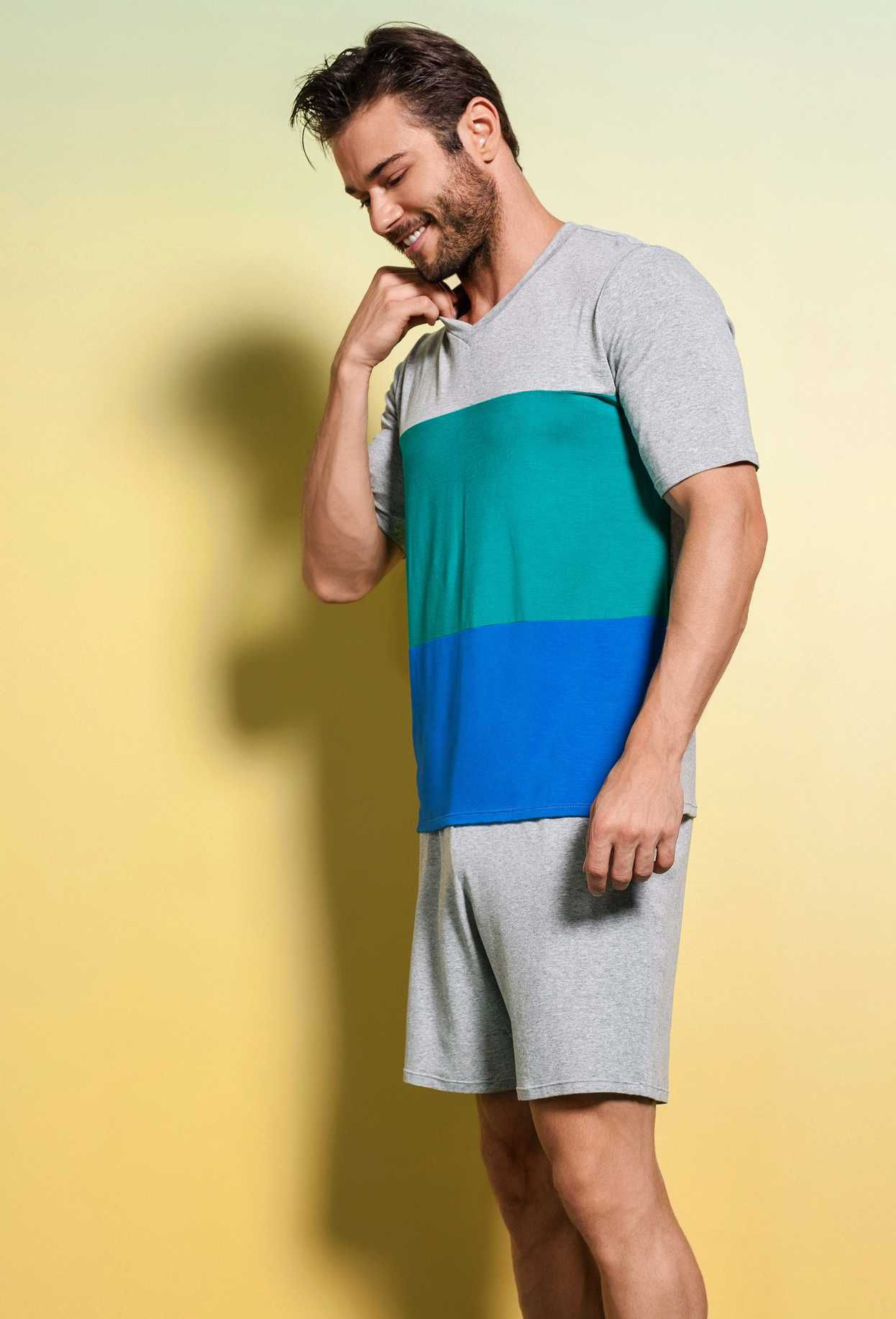 Pijama Upman Mescla Masculino