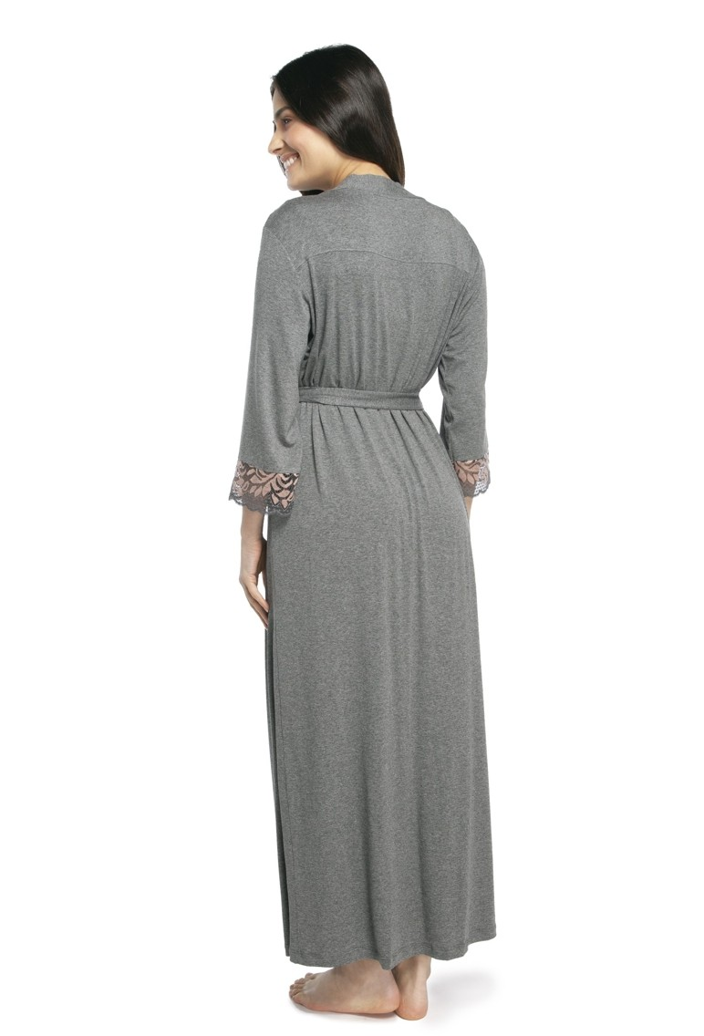 Robe Feminino Longo com Renda