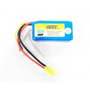 Bateria LiPo 11.1v 3s 1300 mAh / 15C - FFB 007 - PEQs e Amoeba 13