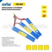 Bateria Lipo - 11.1V/3S (3 Pack) - 1500mAh - 15C - FFB-002 - Feasso