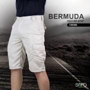 Bermuda Tática Poly 6 Bolsos SAFO - Creme