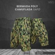 Bermuda Tática Poly RipStop 6 Bolsos SAFO - Marpat