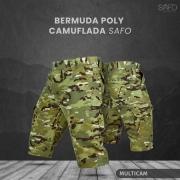 Bermuda Tática Poly RipStop 6 Bolsos SAFO - Multicam