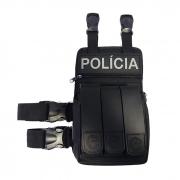 Bornal / Porta Treco com Bolso Triplo para Carregadores - Elite