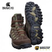 Bota Airstep Hiking Bravo 10 5700 - Brown Green
