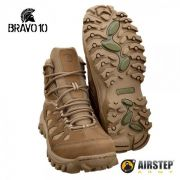 Bota Airstep Hiking Bravo 10 5700 - Coyote