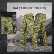 Calça Double Fishing SAFO (Calça e Bermuda) - Multicam