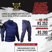 Camisa de Combate + Calça Tática - SAFO - Azul Marinho