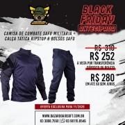 Camisa de Combate + Calça Tática - SAFO - Azul Noturno
