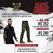 Camisa de Combate + Calça Tática - SAFO - Marpat