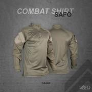 Camisa de Combate Safo Militaria - Caqui