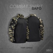 Camisa de Combate Safo Militaria - Tiger Jungle
