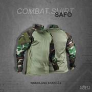 Camisa de Combate Safo Militaria - Woodland