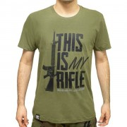 Camiseta Evo Tactical My Rifle - Verde