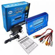 Carregador de Baterias Leão L6 Original + Fonte