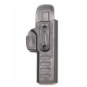 Coldre Velado em Polímero para Pistola Glock Standard G17/G22 (GEN 4) - Só Coldres