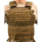 Colete Plate Carrier M6 Cordura 500 WTC - Coyote
