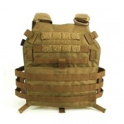 Colete Plate Carrier M7 Cordura 1000 WTC - Coyote