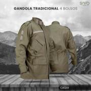 Gandola Tática Militar em Rip Stop SAFO - Caqui