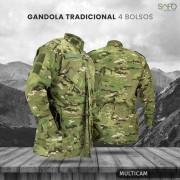 Gandola Tática Militar em Rip Stop SAFO - Multicam