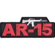 Patch Borbado com Velcro AR-15