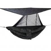 Rede de Camping com Mosquiteiro e Teto SAFO - Multicam Black