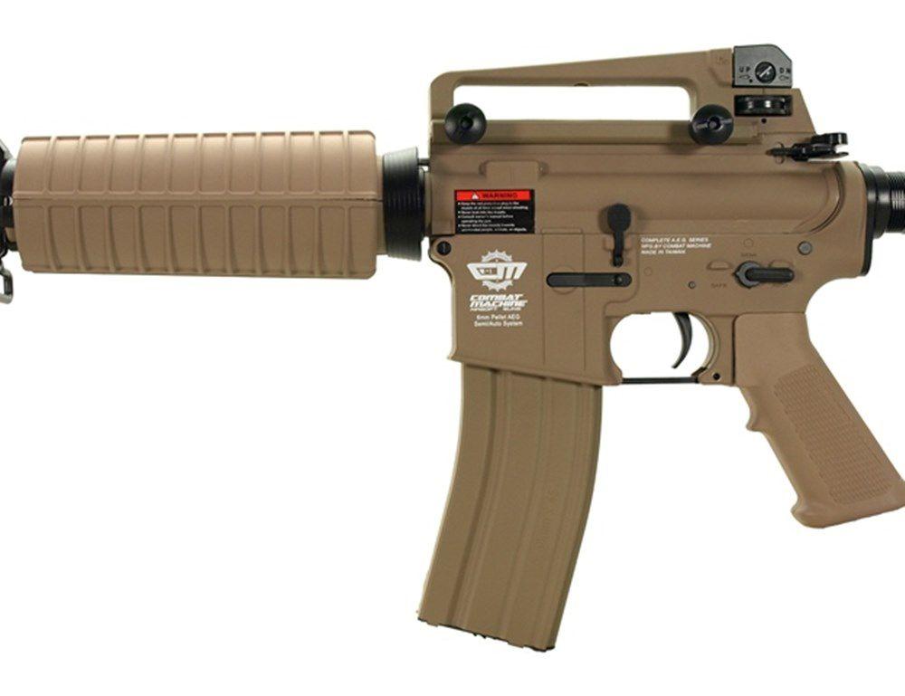 Airsoft Rifle Elétrico AEG CM16 DST - G&G (Com Bateria Lipo e Carregador)