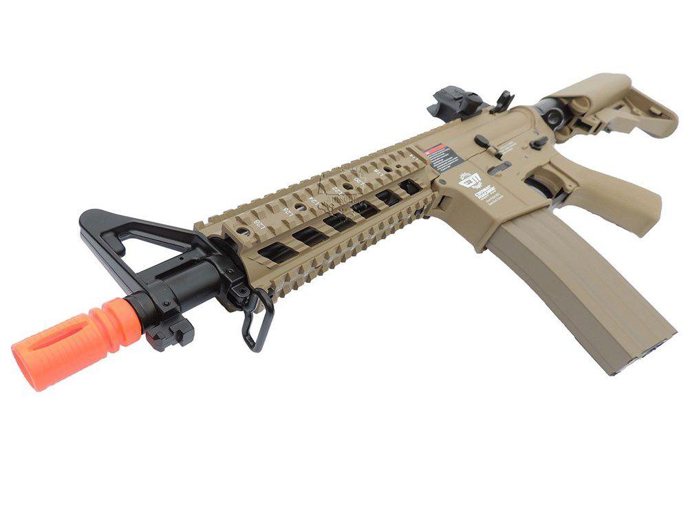 Airsoft Rifle Elétrico AEG CM16 Raider DST - G&G (Com Bateria Lipo e Carregador)