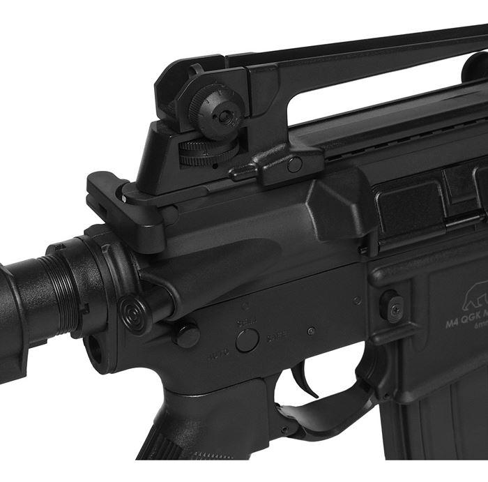 Airsoft Rifle Elétrico AEG M4 MIKE S-1 - QGK + Bateria Lipo e Carregador