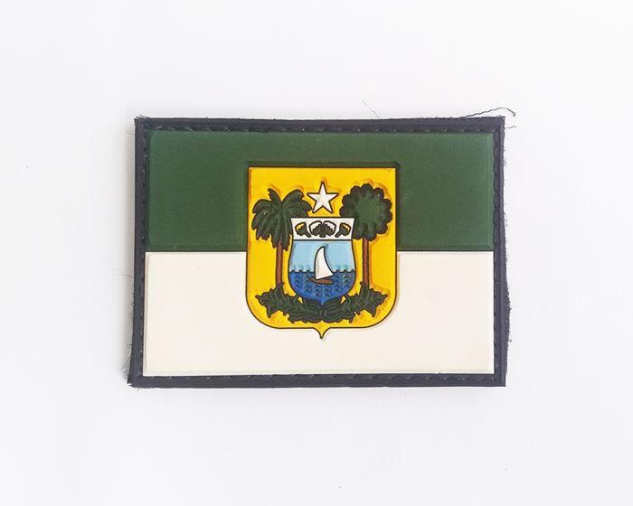 Bandeira do Rio Grande do Norte Emborrachado